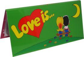 БУКЛЕТ для вкладышей (ЗЕЛЕНЫЙ) LOVE IS... ИСТОРИЯ ЛЮБВИ