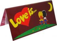 БУКЛЕТ для вкладышей (БОРДОВЫЙ) LOVE IS... ИСТОРИЯ ЛЮБВИ