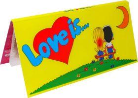 БУКЛЕТ для вкладышей (ЖЕЛТЫЙ) LOVE IS... ИСТОРИЯ ЛЮБВИ