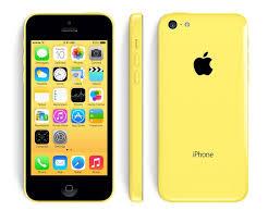 Apple iPhone 5C 16Gb жёлтый