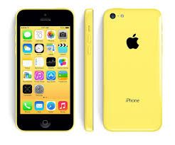 Apple iPhone 5C 32Gb жёлтый