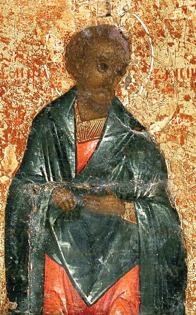Фавмасий Кизический (рукописная икона)
