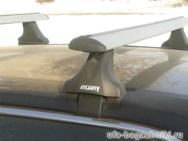 Багажник на крышу Mazda 6 (2013г.-...), Атлант, крыловидные дуги, опора Е
