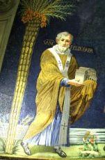 Феликс Римский (рукописная икона)