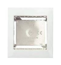 Цоколь для откр. уст. на 1-2 мод., с рамкой ABB NIE Zenit Бел
