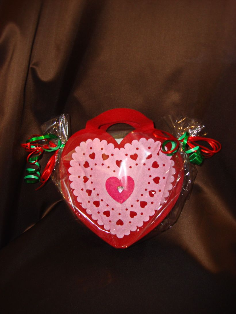 Сердечко (чайная сумочка)  - подарочный набор с чаем
