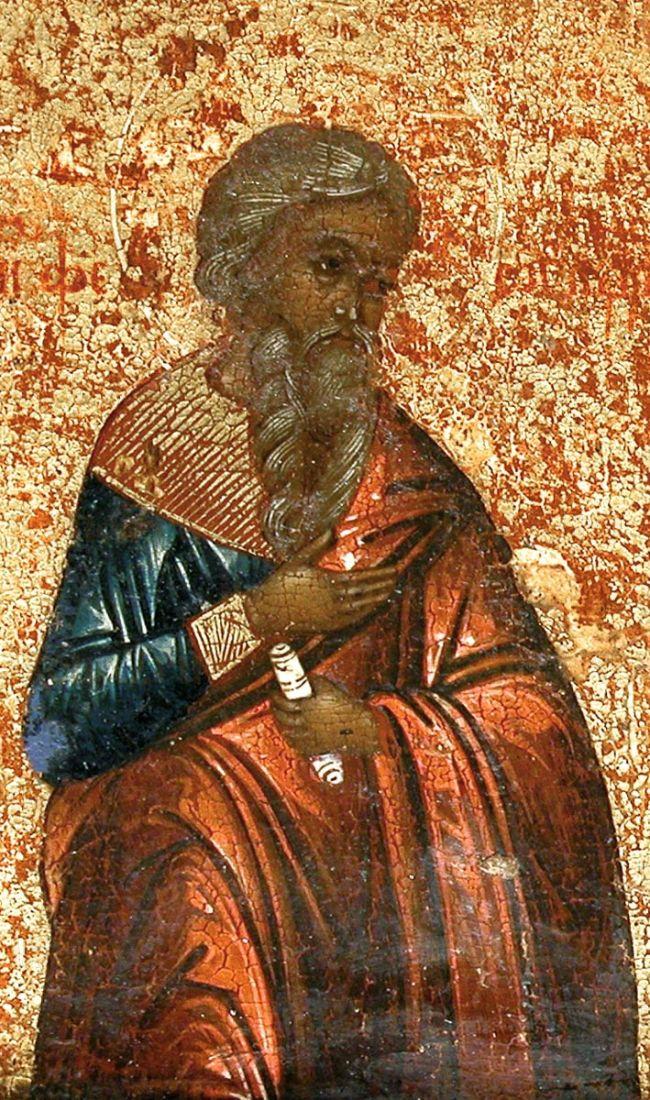 Феогнид Кизический (рукописная икона)