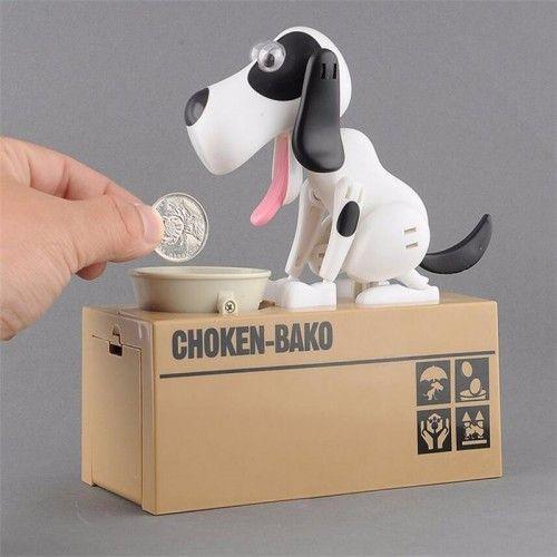 Собака-копилка My Dog Piggy Bank (Цвет: Белый)