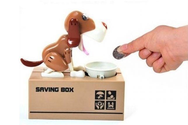Собака-копилка My Dog Piggy Bank (Цвет: Коричневая)