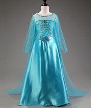 Костюм платье Эльзы длинное