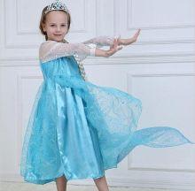 Платье Эльза Холодное сердце П-08