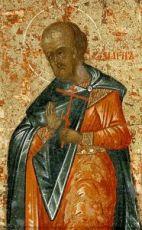 Магн Кизический (рукописная икона)
