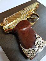 золотой пистолет макарова