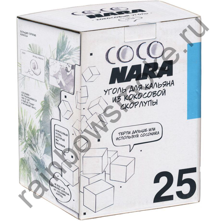Уголь кокосовый для кальяна Coco Nara 25 (72 шт)