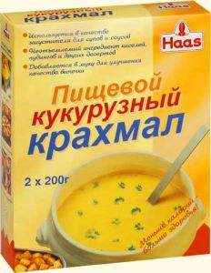 ХААС Крахмал кукурузный в коробке 400 г