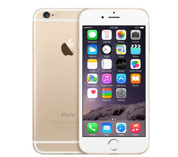 Apple iPhone 6 Plus 128Gb золотой