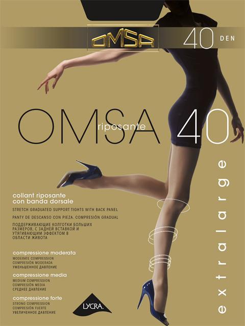 Колготки OMSA 40 XL Omsa