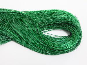 `Шнур декоративный, диаметр 1 мм, цвет зеленый