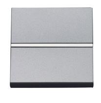 Выкл. 1-кл. кноп. НЗ-контакт 2 мод ABB NIE Zenit Серебро