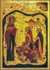Икона Зосима, Савватий Соловецкие