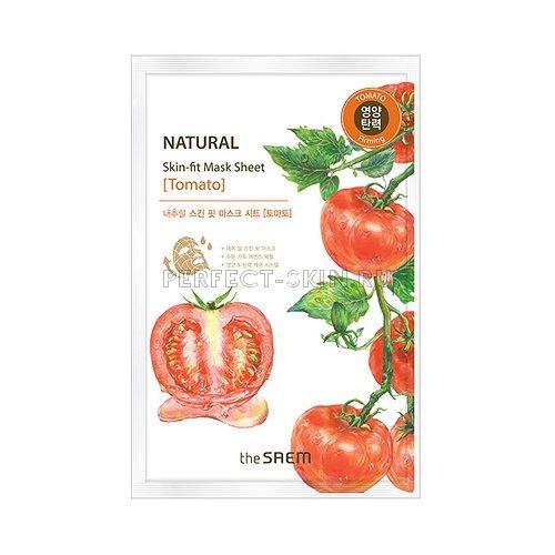 The Saem Natural Skin Fit Mask Sheet Tomato 20ml