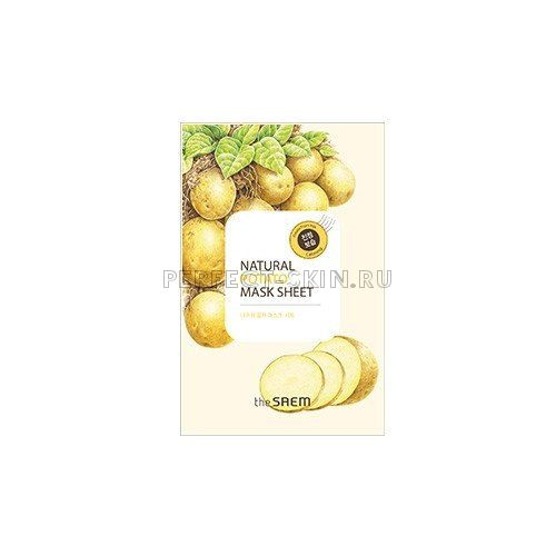 The Saem Natural Potato Mask Sheet 21ml