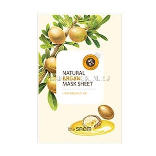 The Saem Natural Argan Mask Sheet 21ml