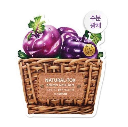The Saem New Natural Tox Kohlrabi Mask Sheet 20g