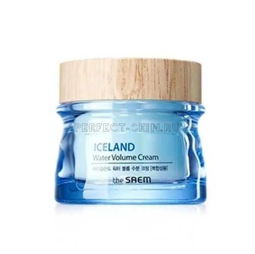The Saem Iceland Water Volume Hydrating Cream For Combination Skin 80ml