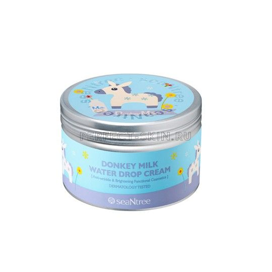 Seantree Donkey Milk Water Drop Cream 200g Design 4