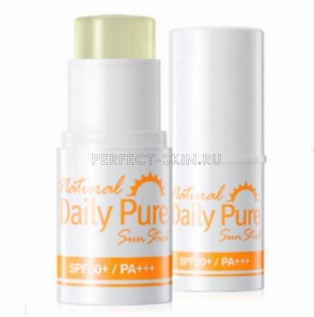 Secret Key Natural Daily Pure Sun Stick Spf50+/Pa+++ 13g