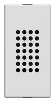 Зуммер 1 мод ABB NIE Zenit Антрацит