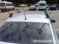 Багажник на крышу Volkswagen Passat B8, Атлант, прямоугольные дуги