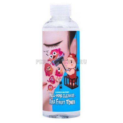 Elizavecca Hell-Pore Clean Up Aha Fruit Toner 200 ml