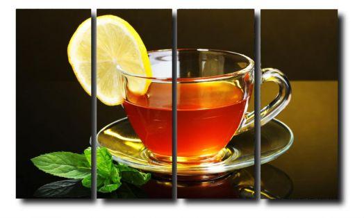Модульная картина Чашка чая