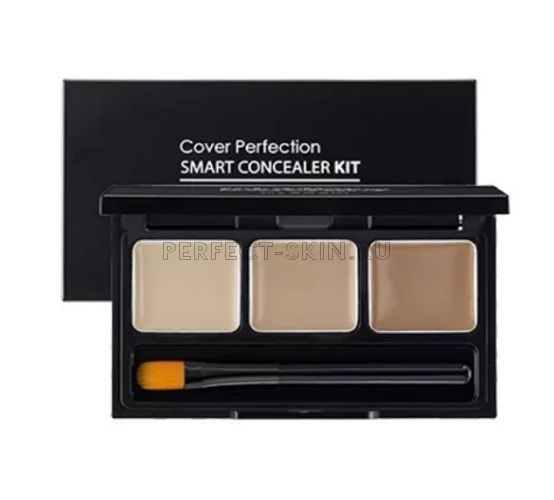 The Saem Cover Perfection Smart Concealer Kit 4,2g
