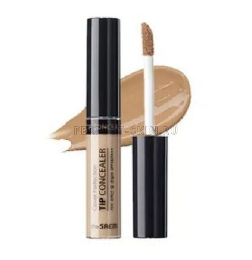The Saem Cover Perfection Tip Concealer Contour Beige 6,5g