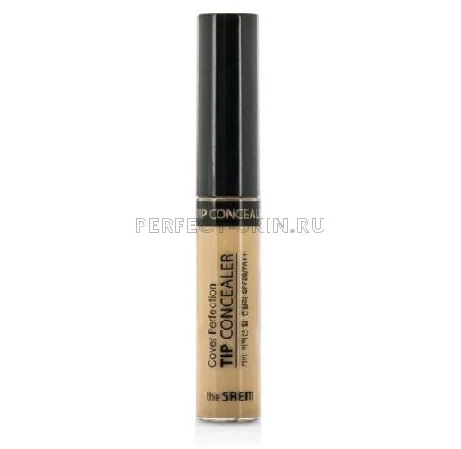 The Saem Cover Perfection Tip Concealer 02 Rich Beige 6,8g