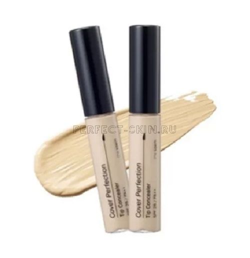 The Saem Cover Perfection Tip Concealer 01 Clear Beige 6,5g