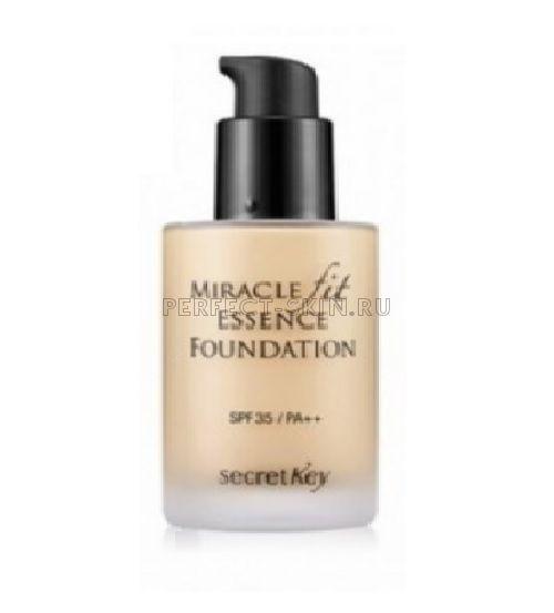 Secret Key Miracle Miracle Fit Essence Foundation Light Beige 21 30ml