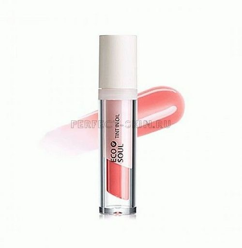 The Saem Lip Eco Soul Mineral Tint In Oil Pk02 Bad Coral 4g
