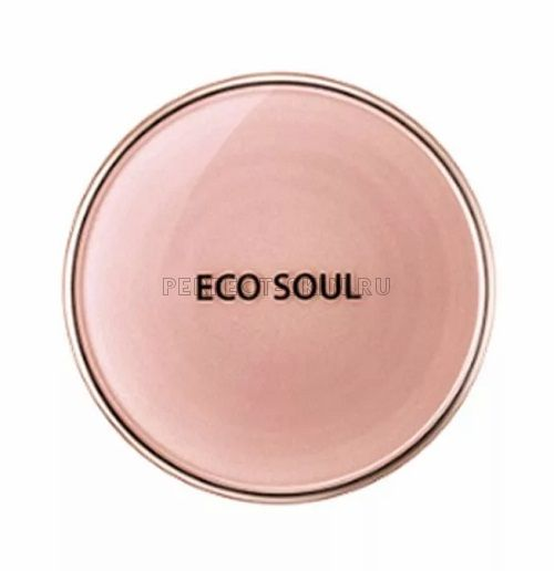 The Saem Eco Soul True Moisture Pact 21 Light Beige SPF30 11g