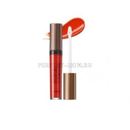 The Saem Lip Eco Soul Glam Luster Lipgloss Or01 Grapefruit Show 7g