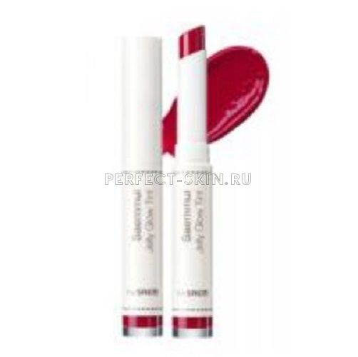 The Saem Lip Saemmul Jelly Glow Tint Pk01 Bad Pink 1,8g