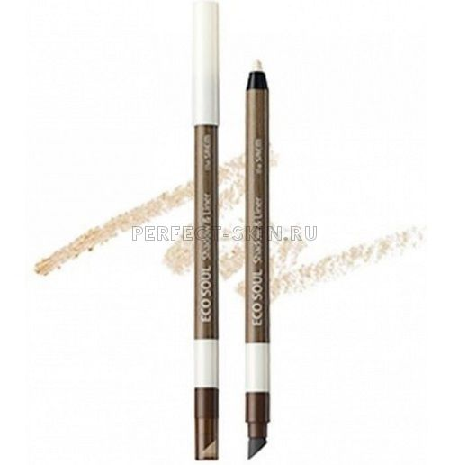 The Saem Eye - Eco Soul Shadow Liner Wh01 Cream Jubilee 0,5g
