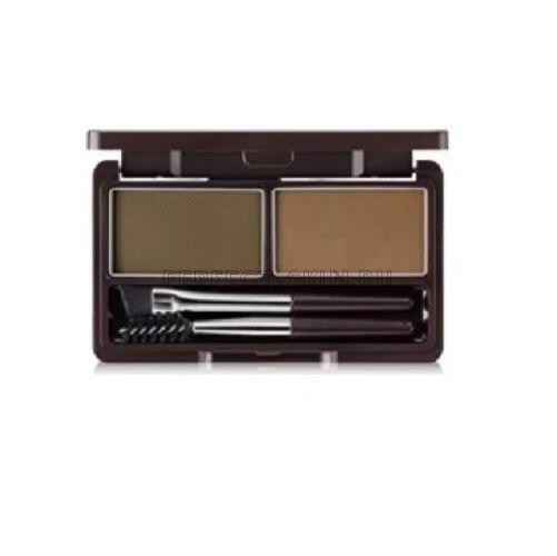 The Saem Eye Eco Soul Eyebrow Kit 01 Brown 2*2,5g