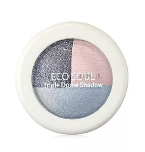 The Saem Eye Eco Soul Triple Dome Shadow Bl01 Mutual Love Blue 6,5g