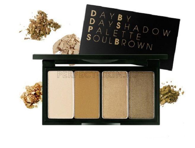 Secret Key Eye By Day Shadow Palette Soul Brown 4*3g