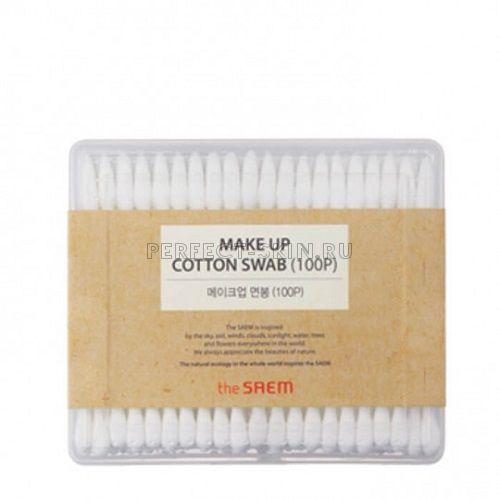 The Saem Makeup Cotton Swab 100ea