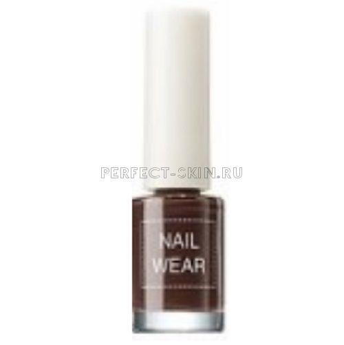 The Saem Nail Wear 19 Chocolate Brown 7ml